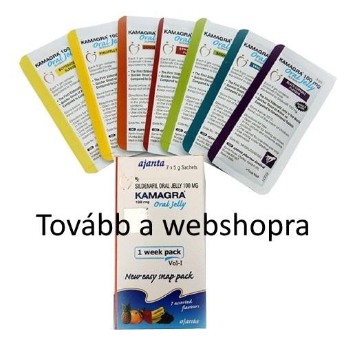 Megbízható zselé rendelés webshop